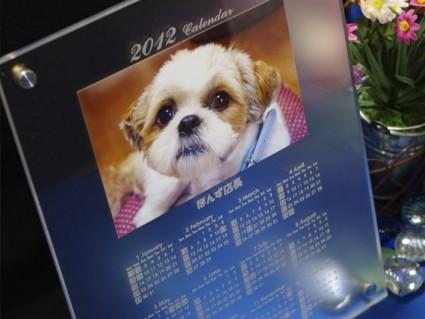 2012年間カレンダー付きフォトスタンドプレゼント企画!
